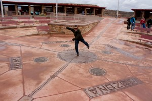 Balancing on the Four Corners