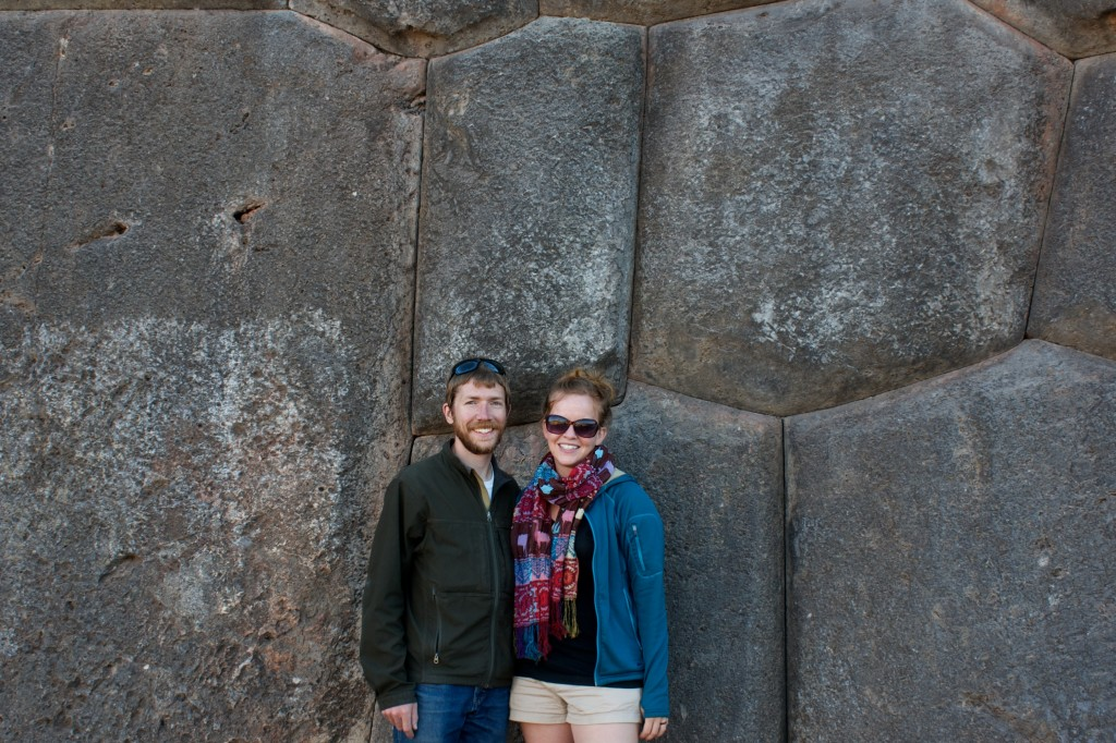 Imposing walls (and imposing inhabitants) at Sacsahuaman