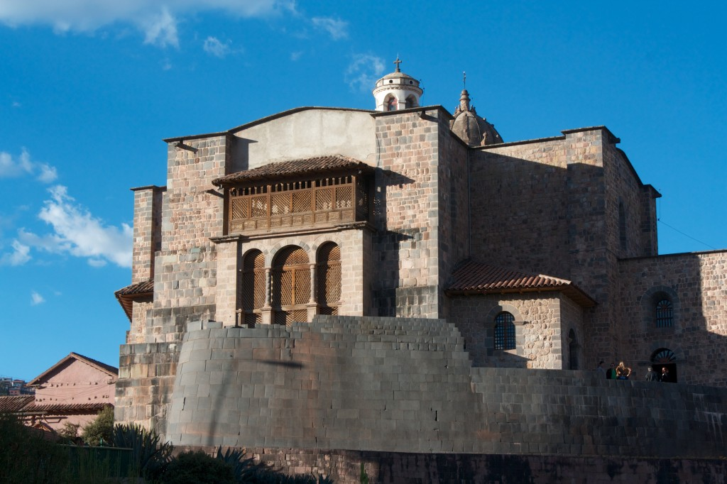 Koricancha, what a great example of neo Inco-spanish architecture