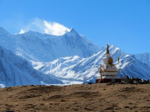 A Stupa with a view
