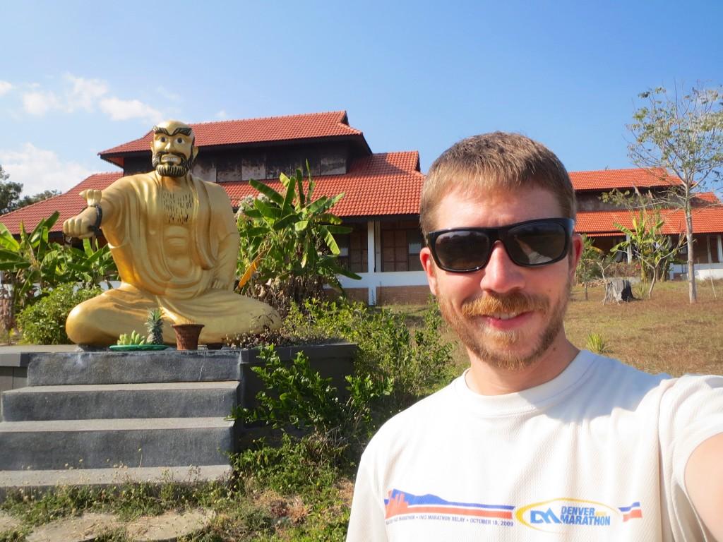 Bodhidharma, father of Shaolin and Zen Buddhism and eyebrow afficionado