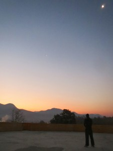 Daily sunrise meditations